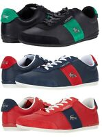 Lacoste Men's Casual Croc Logo Oreno 0120 Shoes Sneakers Black Navy Red