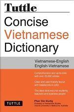 Tuttle Concise Vietnamese Dictionary Vietnamese-English English- by Giuong Phan