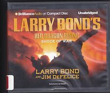 Red Dragon Rising :Shock of War by Jim DeFelice & Larry Bond (2012, CD, Unabridg