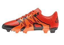 Boys Junior adidas Football Soccer BOOTS Shoes MOULDED Firm Artificial - Orange 2