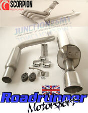 SCORPION FIESTA ST150 MK6 FULL STAINLESS EXHAUST SYSTEM INC MANIFOLD & DE CAT