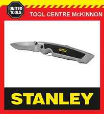 STANLEY SPORT UTILITY OUTDOORSMAN KNIFE WITH HOLSTER AND 10 BLADES