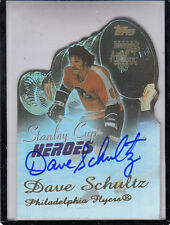 2003-04 TOPPS STANLEY CUP HEROES DAVE SCHULTZ PHILADELPHIA FLYERS AUTO AUTOGRAPH