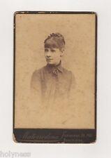 ANTIQUE 1890's CABINET PHOTO / FOTOGRAFIA DE MATORODONA / BARCELONA SPAIN