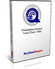 Conrail Philadelphia Division track chart 1999 - PDF on CD - RailfanDepot