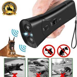 Ultraschall Hundevertreiber Anti-Bell Gerät Hundeabwehr Abschreckung Trainer DE