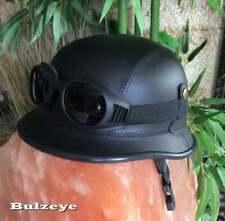Chopper Helm Gr.Bikerhelm Bulzeye CASCO HELMET CASQUE BIKER Size.L