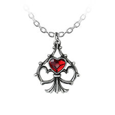 GENUINE Alchemy Gothic Necklace - Lucky In Love | Ladies Heart Pendant