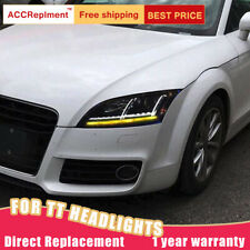 For Audi TT Headlights Assembly 2008-2015 Hid Lens Projector Xenon Head Lamps