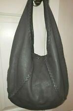 cdd8104a6130f 100% Authentic Bottega Veneta Large Baseball hobo bag in New Light Grey EUC!