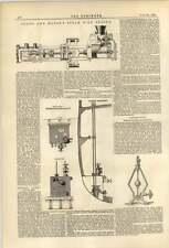 1874 Shan Mason Steam Fire Engine Mein Governor