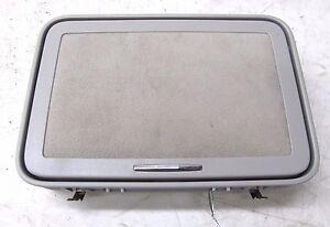 2007-2009 MERCEDES S600 W221 OEM RIGHT REAR ROOF VANITY MIRROR ALCANTARA GRAY