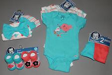 Baby gir clothes, Newborn, Gerber bodysuits, pants, booties, hats