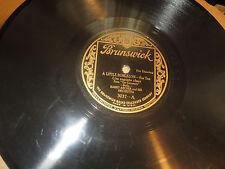 78RPM Brunswick Harry Archer, Gershwin, Great Big Bear / A Little Bungalow V V+