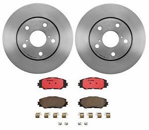 Brembo Front Brake Kit Ceramic Pads Disc Rotors for Lexus Scion xB Toyota RAV4