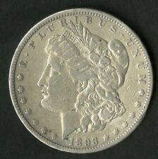 US Coin 1893 CC Morgan Silver Dollar Rare Date NO RESERVE!