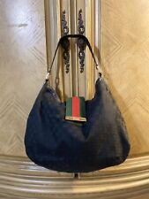 Gucci Large Black Guccissima Canvas