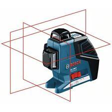 BOSCH Linienlaser GLL 3-80 P mit Baustativ BS 150, 40 m Reichweite