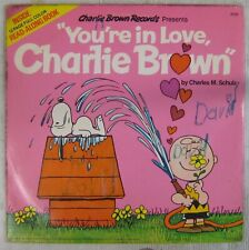 Schulz 33 tours You're in love Charlie Bown