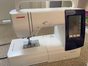 Janome MC 9850 Nähmaschine Stickmaschine Memory Craft