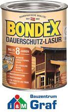 BONDEX Dauerschutz-Lasur 0,75 Liter / in verschiedenen Farben verfügbar / #873