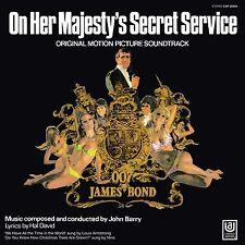 John Barry/est-James Bond: on her Majesty 's secret serv. (Limited) vinyl LP NEUF