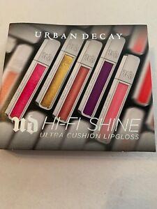 Urban Decay Hi-Fi Shine Ultra Cushion Lip Gloss in SPL Deluxe Sample New Fresh!