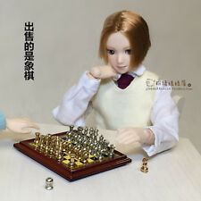 1/6 to 1/12 Scale Magnetic Chess Set for Action figure Toys