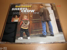 SHERYL CROW single SWEET CHILD o MINE guns n roses cover 3 TRACK cd + POSTER