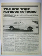 Valiant Car and Truck Advertising Collectables