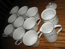 Noritake China Dinnerware Japan Inverness Pattern # 6716