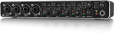 Behringer U-PHORIA UMC404HD USB Audio / MIDI Interface with MIDAS Mic Preamps