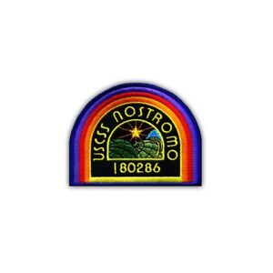 USCSS NOSTROMO - color Embroidered PATCH/BADGE