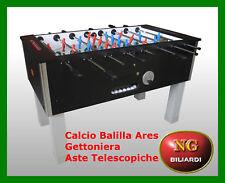 Calcio Balilla ARES (gettoniera) - aste telescopiche - CALCETTO CON GETTONIERA A