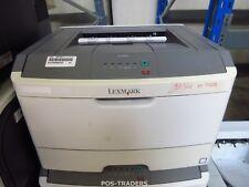 Lexmark E260DN A4 Mono 33ppm USB LAN Laser Printer 1200DPI Drucker 97652 PRINTS