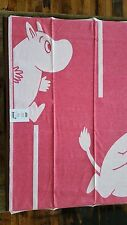 "100% Organic Cotton Moomin Goes rod (Pink) Baby Blanket 28"" x 41"" by Ekelund"