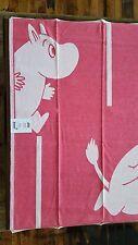 "100% Organic Cotton Moomin Goes rod (Pink) Baby Blanket 28"" x 41"" by Ekelund"
