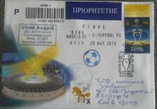 FDC cover footbal Final Champions League Real Madrid Liverpool Kyiv Ukraine 2018