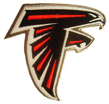 New NFL Atlanta Falcons Logo Football embroidered iron on patch. (i11)