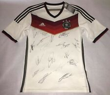 2014 WC Germany Champion Team signed autograph jersey Neuer Klose Gotze Bastian