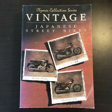 Clymer Collection Series Vintage Japanese Street Bikes Honda Kawasaki
