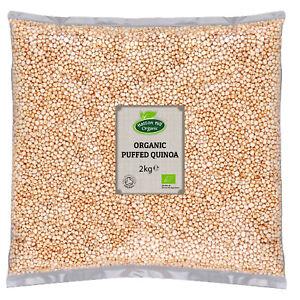 Organic Puffed Quinoa 2kg Certified Organic