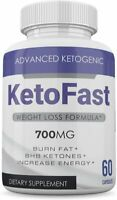 Keto Fast - 700MG - BHB Ketone Formula - 2 Month Supply