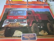 Super Trucks Feuerwehr Frankreich Renault Midliner Camvia 4x4, 1984