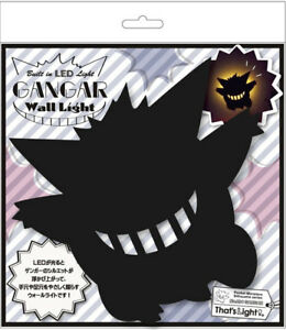 Toyo Case LED Wall Lighting Pokemon Wall Light Gengar Black