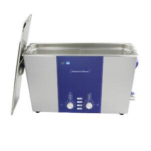 Long Tank Ultrasonic Clean Machine Degas Sweep 400W Digital Cleaner DR-DS120