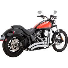 Vance & Hines Chrome Big Radius Exhaust for 1986-2017 Harley Softail