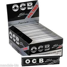 OCB SLIM + TIPS  - Lot de 10 Carnets de 32 Feuilles + 32 Tips