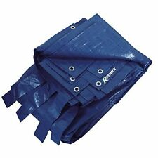 More details for ribimex prbp14006 x 10 rectangular pool towel, blue