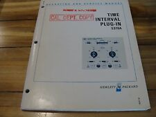 HP / Agilent 5379A Time Interval Plug In Module Operating and Service Manual